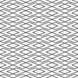 Naadloze uitstekende van het de controleweefsel van Art Deco met elkaar verbindende het patroonachtergrond vector illustratie