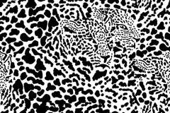 Naadloze vector dierlijke druk royalty-vrije illustratie