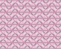 Naadloze vector geometrische patroonachtergrond Royalty-vrije Stock Afbeeldingen