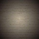 Naadloze vector witte bakstenen muur vector illustratie