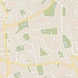 Naadloze vectorkaart Royalty-vrije Stock Fotografie