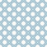 Naadloze vectorpatroonachtergrond Modieuze, grappige en moderne grafische textuur Blauw ongelijk patroon van blauwe abstracte cir stock illustratie
