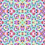 Naadloze veelkleurige patrooncaleidoscoop, textuur caleidoscope met velen kleur vector illustratie