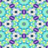 Naadloze veelkleurige patrooncaleidoscoop, textuur caleidoscope met velen kleur royalty-vrije illustratie