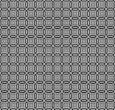 Naadloze vierkante patroon zilveren grijze zwarte Stock Foto's