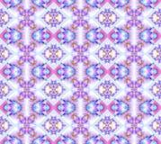 Naadloze violette roze purpere turkooise grijs van het diamantpatroon Stock Foto's