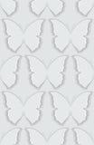 Naadloze vlinder als achtergrond royalty-vrije illustratie