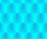 Naadloze volumeachtergrond van pixel Stock Foto's
