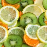 Naadloze vruchten Royalty-vrije Stock Afbeeldingen