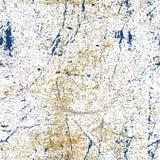 Naadloze vuile roestige grungetextuur, vectorachtergrond Royalty-vrije Stock Fotografie