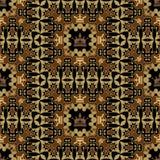 Naadloze Wijnoogst. Het Patroon van het behang. Vector Royalty-vrije Stock Afbeeldingen