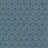 Naadloze wijnoogst uitgeputte 3D het patroonachtergrond van de lijndoos Stock Illustratie
