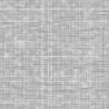 Naadloze witte ruwe stoffentextuur Royalty-vrije Stock Foto