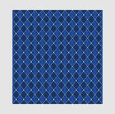 Naadloze zilveren en blauwe textuur Royalty-vrije Stock Fotografie