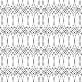 Naadloze zwart-wit abstracte patronen Royalty-vrije Stock Afbeelding