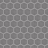 Naadloze zwart-wit patroon imitatiedronkaard Royalty-vrije Stock Foto
