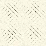 Naadloze zwart-witte geometrische achtergrond Abstracte halftone Stock Afbeeldingen