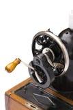 Naaien-machine op de witte achtergrond Royalty-vrije Stock Afbeeldingen