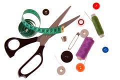 Naaiende hulpmiddelen Stock Fotografie