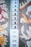 Naaiende meter royalty-vrije stock foto