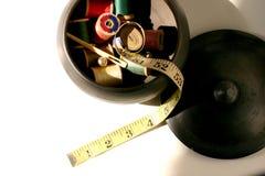 Naaiende uitrusting Stock Fotografie
