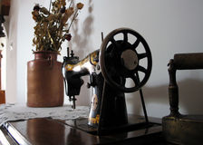 Naaimachine 2. Stock Afbeelding
