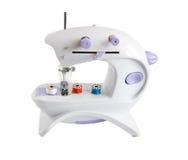 Naaimachine met spoelen royalty-vrije stock afbeelding