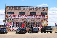 Naajo & Hopi Indiański sklep Obraz Royalty Free