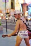 Naakte Cowboy Royalty-vrije Stock Fotografie