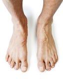 Naakte voeten Royalty-vrije Stock Foto's