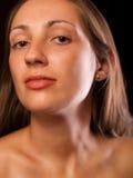 Naakte vrouwen dichte omhooggaand Royalty-vrije Stock Afbeelding