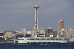 Naald en Veerboot Royalty-vrije Stock Afbeelding