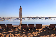 Naama Bay in Sharm El Sheikh Stock Photo