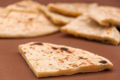 naan印地安的面包- 免版税库存照片