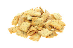 Naan Baked Bread Crackers Stack Stock Images