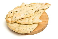 Naan Bread Royalty Free Stock Images