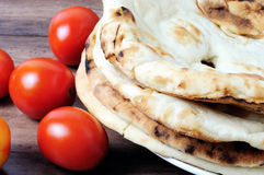 Naan roti flatbread Stock Photography