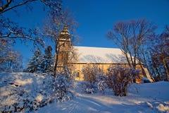 Naantali Church stock image