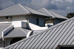 Naar huis dak Stock Foto