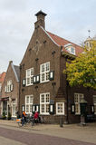 Naarden. NETHERLANDS - APRIL 30: Typical Dutch architecture on April 30, 2013 in , The Netherlands Royalty Free Stock Images