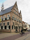 Naarden. NETHERLANDS - APRIL 30: Typical Dutch architecture on April 30, 2013 in , The Netherlands Stock Photography