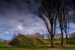 Naarden star fort Royalty Free Stock Images