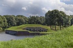 Naarden-Vesting för Medievel fort Royaltyfri Bild