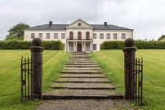 Naas Slott - la Svezia Fotografia Stock