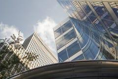 Nababs riches de Président d'empire de New York sur Wall Street dans la facture de Manhattan Image libre de droits