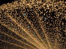 Nabana nenhum jardim na noite no inverno, Mie de Sato, Japão imagem de stock royalty free