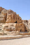 Nabataean Caves Royalty Free Stock Photos