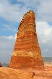 Nabatean obelisk in Petra, Jordan Stock Images