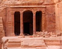Nabatean Petra, Jordan Royalty Free Stock Photos
