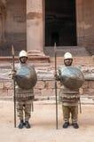 Nabatean-Soldaten Lizenzfreies Stockfoto